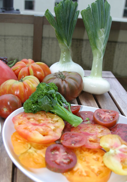 Bay Area Heirloom Tomatoes